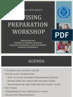 final alternative advising prep workshop presentation as of 10 15 2013