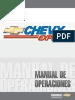 Manual Chevy Expres Actual