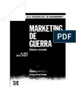 Marketing Guerra - Al Ries y Jack Trout