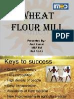 Wheat Flour Mill Business Plan Presentation