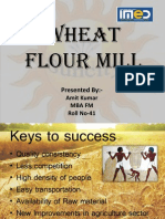 Wheat Flour Mill Business Plan Presentation