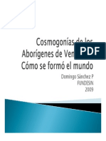 Cosmogonias Aborigenes Venezuela