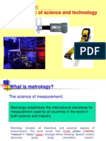 Introduction to mechanical measurements and metrology