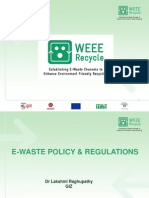 E-Waste Policy & Regulations_110822