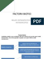 Factorii Biotici+Impact Antropic