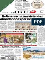 Periódico Norte de Ciudad Juárez edición impresa del 17 abril del 2014