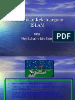 Pendidikan Kekeluargaan ISLAM