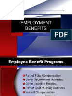 10 Employment Benefits