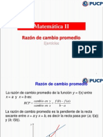 1.Mate II - Semana 1(1)- RAZÓN_DE_CAMBIO 2014-1