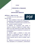 7983 Ley de Proteccion Trabajador