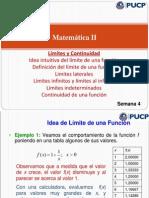 2.Mate II - Semana 1_2 - Límites y Continuidad 2014-1
