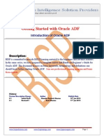 Introduction of Oracle ADF