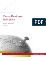 Doing Business in Mexico 2013 (B&M)