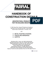 Handbook of Construction Details- Metal Roofing, Fascade