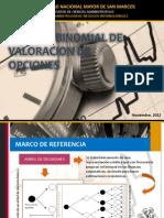Modelo Binomial de Valoracion de Opciones