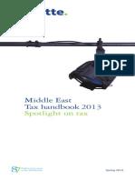 Deloitte Me Tax Handbook 2013