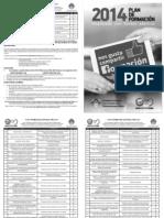 Listado Cursos FSP-UGT-PV 2014