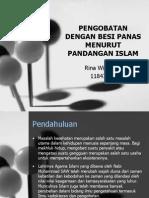 Pengobatan Dengan Besi Panas Menurut Pandangan Islam