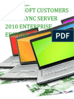 Microsoft Customers using Lync Server 2010 Enterprise Edition - Sales Intelligence™ Report