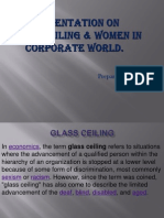 PPT on Glass Ceiling