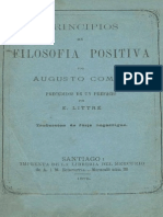 filosofia positiva  Augusto Comte.pdf
