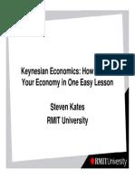 Keynesian Economics - How to Ruin Your Economy in One Easy Lesson