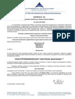 Certificarea Productiei - Sikadur-42HE
