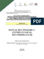 IRSCA-Manual de Utilizare a CLM-1