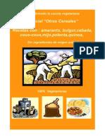Cocina Vegana-otros Cereales