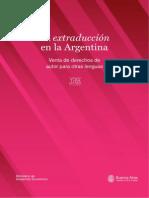 La Extraduccion en la Argentina