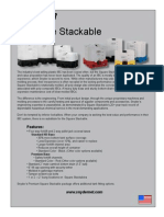 Square Stackable IBC