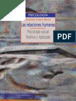 Las relaciones humanas Psicología social teórica y aplicada