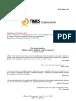 1. ARTICOLO - Andrea Gentile - 25 Settembre 2013