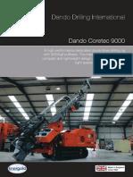 Dando Coretec 9000 (Dando Drilling Indonesia) Mineral exploration rig