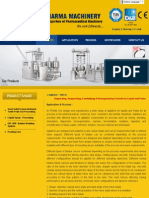 Agitator - Stirrer _ Stirrer-Agitator, Homogenizer, Homogenizing, Vacuum Mixing Emulation and Homogenizing Solution for Emulsions, Pharmaceuticals Machinery