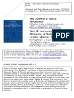 2. Zhang Et Al. (2013) Role Stressors and Job Attitudes - A Mediated Model of LMX