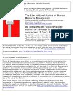 3. Kim Et Al. (2013) Do Interpersonal Relationships Still Matter for TOI