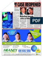 Martin McGartland Spy case reopened .  Martin McGartland, former undercover agent, was kidnapped by PIRA convicted terrorist in full view of RUC, army and MI5 surveillance team. The RUC, PSNI have covered-up Martin's PIRA kidnapping ever since, they have also protected his kidnappers
