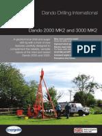 Dando 2000 MK2-3000 MK2 (Dando Drilling Indonesia)