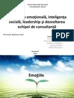 Inteligenta Emotionala, Sociala, Leadership, Management Si Echipe