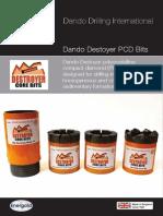 Dando Destoyer PCD Bits (Dando Drilling Indonesia)