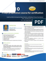 API_510- 5 Days Preparation Course for Certification