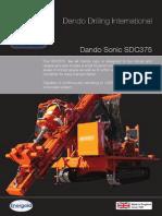 SDC375 Dando Drilling Sonic Rig (Indonesia)