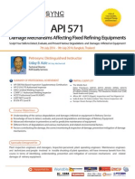 API 571 Damage Mechanism Affecting Fixed Refining Equipments