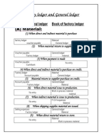 factory ledger and general ledger