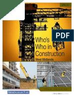 Who's Who Construction