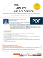 API 579 Fitness for Service