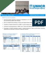 UNHCR ERITREA Operation Fact Sheet March 2014