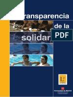 La Transparencia de La Solidaridad