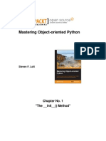 9781783280971_Mastering_Object_Oriented_Python_Sample_Chapter